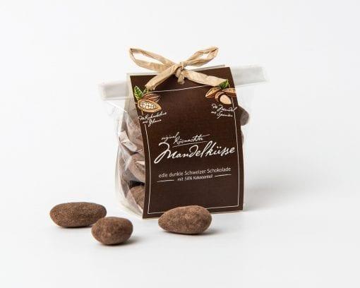 Küsnachter Mandelküsse dark chocolate with flap